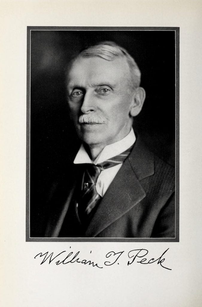 William T Peck