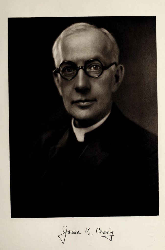 James A Craig