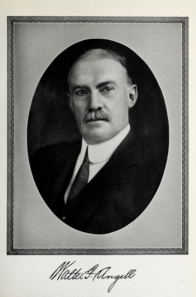 Walter Foster Angell