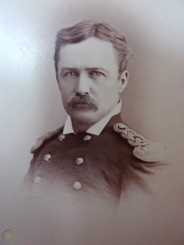 William Henry Bisbee cabinet card
