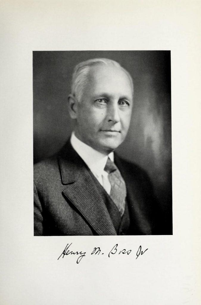 Henry Manchester Boss Jr